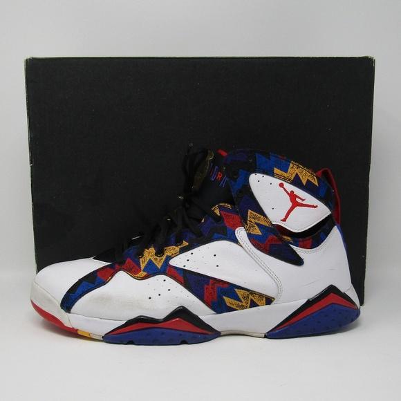 54297f931a4 Jordan Other - Nike Air Jordan 7 Retro Ugly Sweater sz 13 Coogi